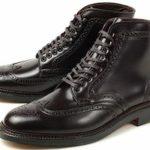 ALDEN オールデン コードバン ウィングチップブーツ 美しい靴の選び方 おすすめの人気シューズを通販でお取り寄せ